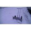 Ручная снегоуборочная тележка